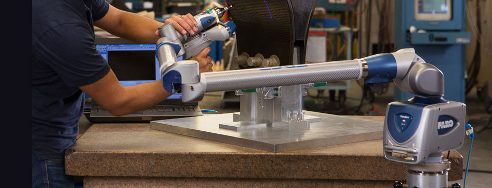 CMM Arm with optional ES and HD Laser Line Scanners