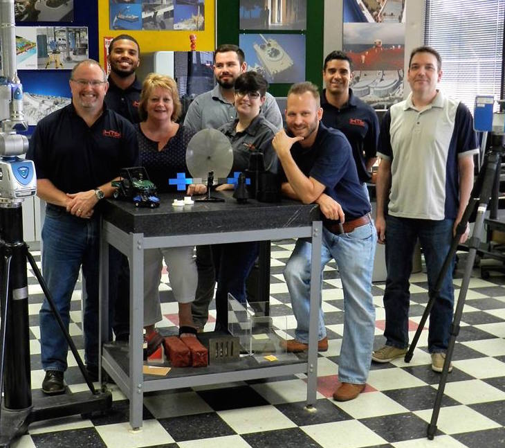 HTS Advanced Solutions' employees including our experienced 3D modelers and expert 3d printer people