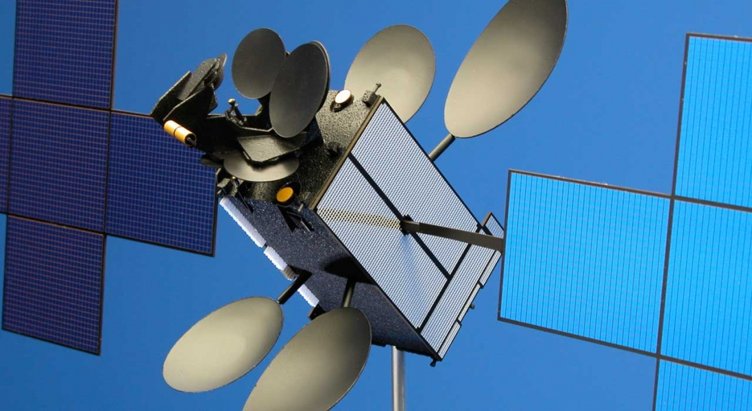 NSS-12 Satellite: Aerospace Model. Need TEXT here