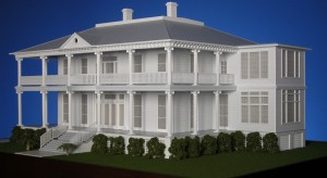 Dantzler House Model: