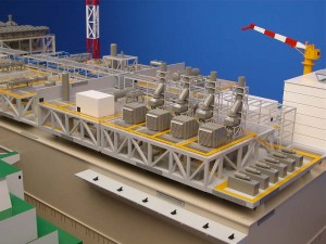 SCARBOROUGH LNG GBS CONCEPT MODEL