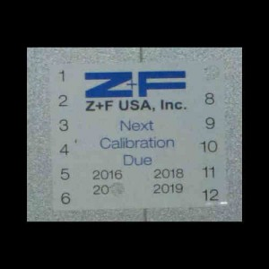 Z+F 5010C Y For Sale showing Equipment Data